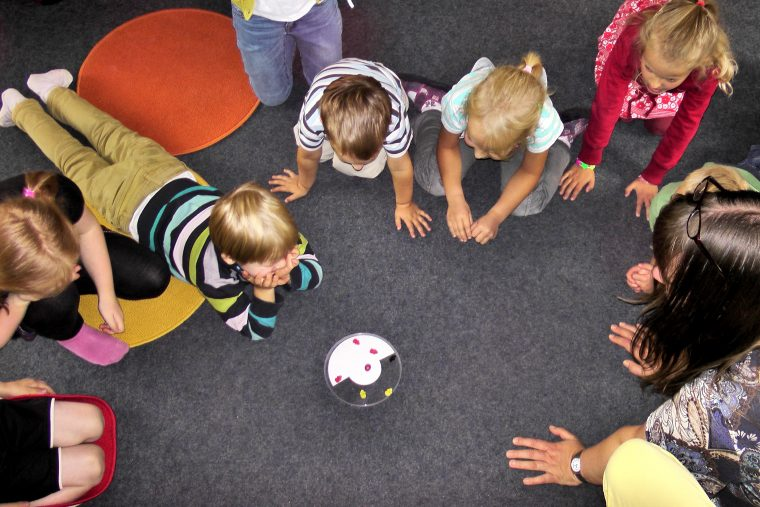 Cantera, ministerio de niños